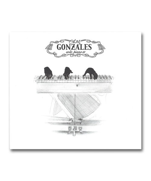 【LP】Gonzales / Solo Piano Ⅲ <Gentle Threat / Beat Records>