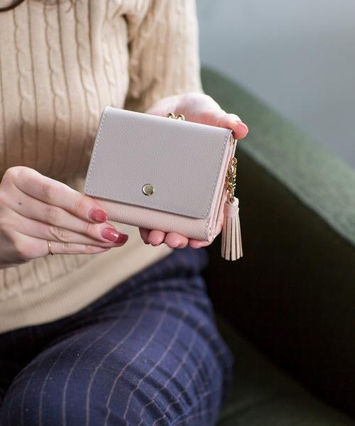 2619de052f54 GLENCHECK Original(グレンチェックオリジナル)の「CHIOCCIOLA/キオッチョラ がま口三つ折り財布 コンパクトウォレット(財布)」  - WEAR