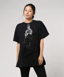GUITAR GIRLビッグTシャツ