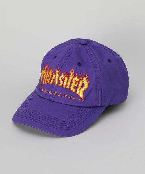 <THRASHER>FLAME LOGO CAP/キャップ