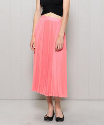 <H>ACORDION PLEATS SKIRT/スカート