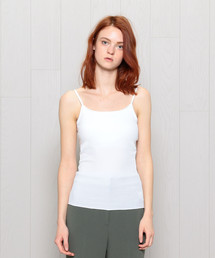<H>COTTON RIB CAMISOLE/キャミソール