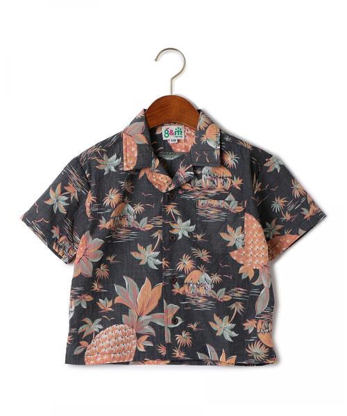 【キッズ】別注 HIGHKING(ハイキング)アロハシャツ