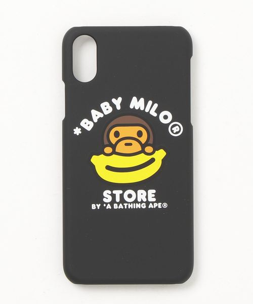 outlet store c119e 09e05 A BATHING APE(アベイシングエイプ)の「IPHONE X HARD CASE(モバイル ...