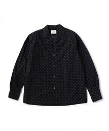 UNITED ARROWS & SONS(ユナイテッドアローズ&サンズ)DOT/PRT OPEN SHIRT
