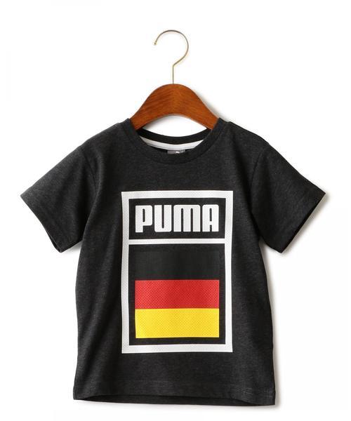 〔WEB限定〕PUMA(プーマ) FOOTBALL TEE ブラック