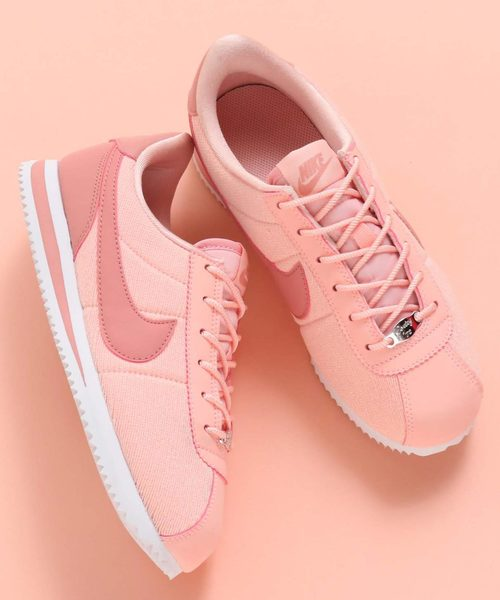 d85a53988a400 NIKE(ナイキ)の「NIKE CORTEZ BASIC TXT SE (GS) (STORM PINK RUST PINK-WHITE)   SP (スニーカー)」 - WEAR