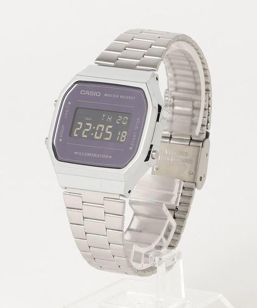 fa728fbf0c 「CASIO カシオ / スタンダード デジタル 流通限定モデル クォーツ腕時計 メタルベルト A168WEM-1DF