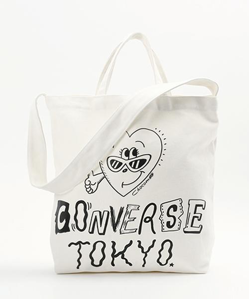 71194c3098 CONVERSE(コンバース)の「CONVERSE TOKYO×CHOCOMOO 2WAYトートバッグ(トートバッグ)」 - WEAR