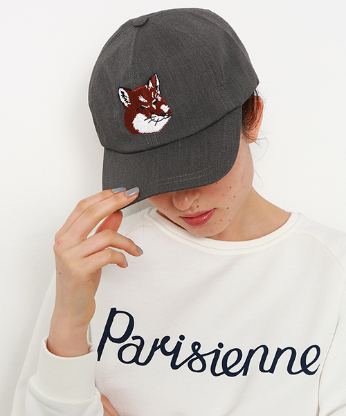 Maison Kitsune Maison Kitsune Cap Quot Fox Head Quot Wear