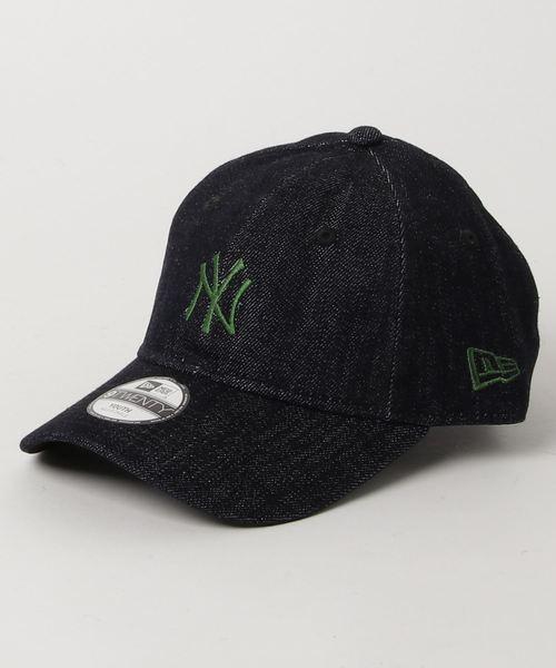 4e1945d281391 「ニューエラ キッズ キャップ 9TWENTY JAPAN DENIM MLB ニューヨークヤンキース デニム NEW ERA YOUTH」