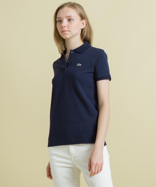 2338653d05e1 LACOSTE(ラコステ)の「定番スリムフィットポロシャツ (半袖)(ポロシャツ)」 - WEAR