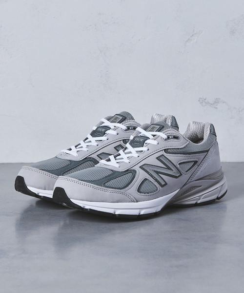 【国内限定展開】<New Balance(ニューバランス)> M990v4 USA UA†