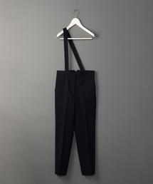 <6(ROKU)>ONE SUSPENDERS PANTS/パンツ