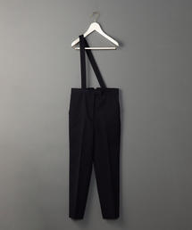 <6(ROKU)>ONE SUSPENDERS PANTS/パンツ