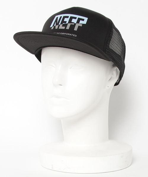 80981a07303fd NEFF(ネフ)の「CORPO SPLIT TRUCKER MESH CAP(キャップ)」 - WEAR