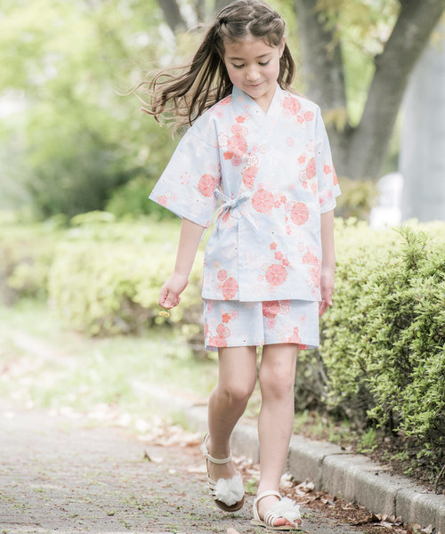 소녀 진베이(여름에 입는 남자 덧옷) KIDS