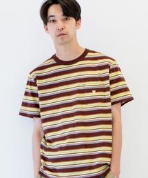 サーフマルチボーダーTシャツ