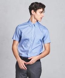 UADT ミニ ギンガムチェック ボタンダウン シャツ