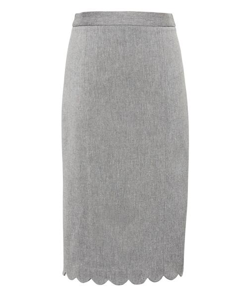 3b2d97d67f11f BANANA REPUBLIC(バナナリパブリック)の「スカラップ バイストレッチ ペンシルスカート(スカート)」 - WEAR
