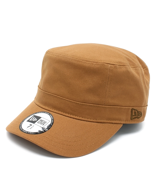 2adf67ae84d ONSPOTZ(オンスポッツ)の「NEWERA WM-01 MILITARY CANVAS TAN   NEW ERA CAP  (キャップ)」 -  WEAR