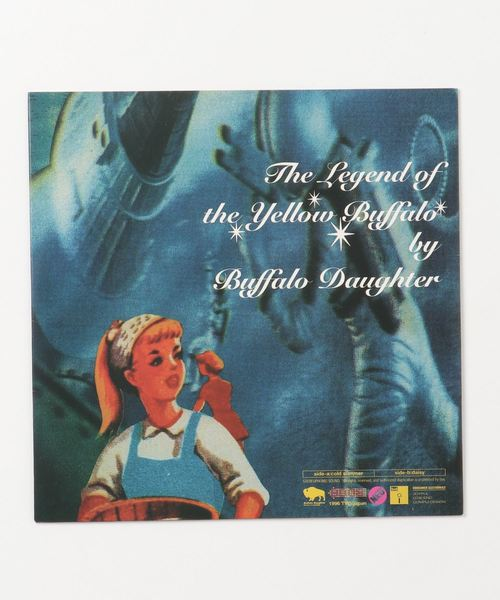 "【7""】Buffalo Daughter / The Legend Of The Yellow Buffalo"