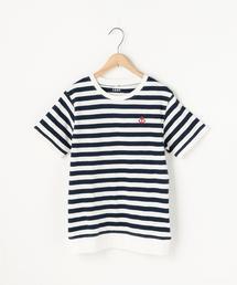 キモウスラブボーダーTシャツ
