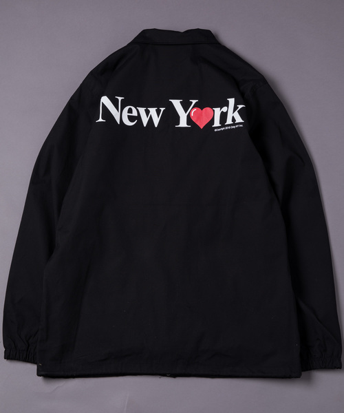 be81cb238a08 ONLY NY(オンリーニューヨーク)の「【Only NY】 NEW YORK LOVE COACH JACKET コーチジャケット(ナイロンジャケット)」  - WEAR
