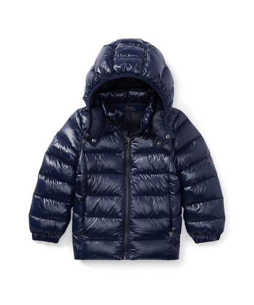 a12aebfcfe26d Polo Ralph Lauren Childrenswear(ポロ キッズ)の「フーデッド ダウンジャケット(ダウンジャケット コート)」 -  WEAR