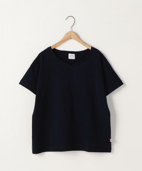 【新色追加】USAコットンVネックTシャツ