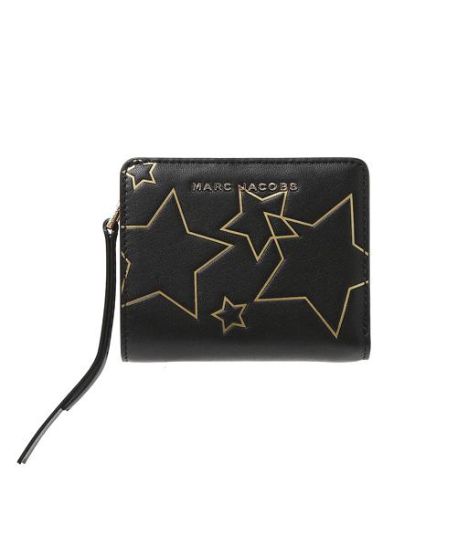 de3f5d2d46e MARC JACOBS(マークジェイコブス)の「STARS/スター ミニ コンパクト ウォレット【日本限定アイテム】(財布)」 - WEAR