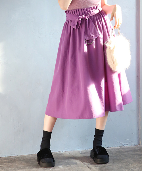 51b22cd184cc11 one after another NICE CLAUP(ワンアフターアナザーナイスクラップ)の「レトロなフレアスカート(スカート)」 - WEAR