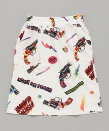 POP GUN総柄 スカート【L】