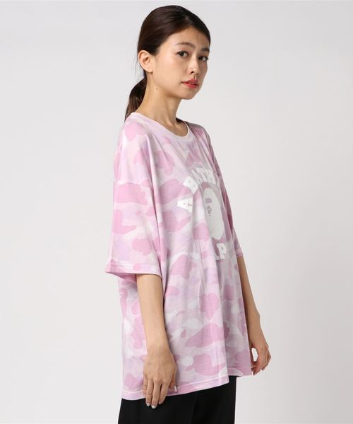 5647a5117 A BATHING APE(アベイシングエイプ)の「PASTEL COLOR CAMO COLLEGE OVERSIZED TEE L(Tシャツ・カットソー)」  - WEAR