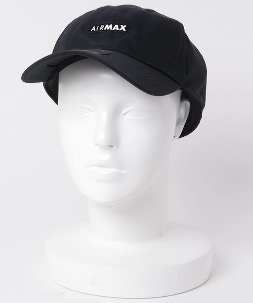 NIKE(ナイキ)の「NIKE U NSW AROBILL H86 CAP AIR MAX (BLACK BLACK ... ee6963c816ce