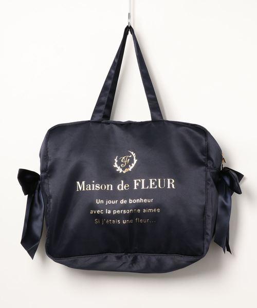 [Maison de FLEUR 메종드플뢰르] 트래블 캐리 온L백