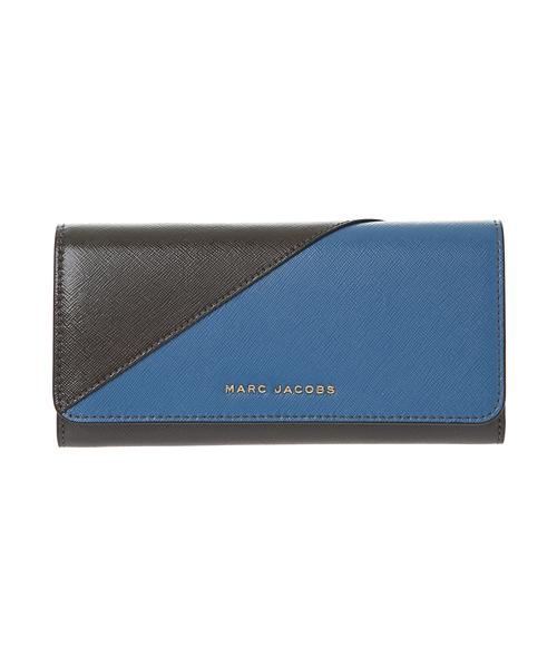 0d07e750842e MARC JACOBS(マークジェイコブス)の「SAFFIANO/ サフィアノ メタルレター フラップ コンティネンタル ウォレット(財布)」 -  WEAR