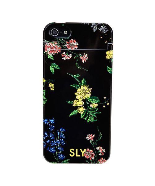 3940fe3fce SLY(スライ)の「iPhone SE iPhone5s/5 SLY ミラーケース 「ナイトフラワー」 花柄(モバイルケース/カバー)」 - WEAR