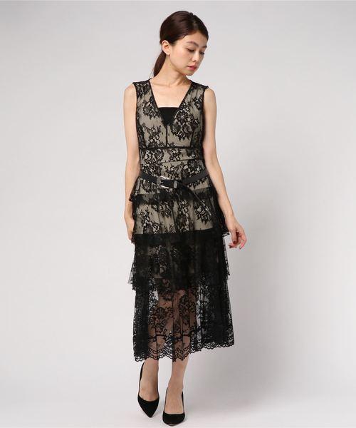 b86cec6515ec9 Narcissus(ナルシス)の「 TEDDY レースティアードドレス(ドレス)」 - WEAR