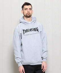 <THRASHER>MAG LOGO HOODED GRAY/スウェット