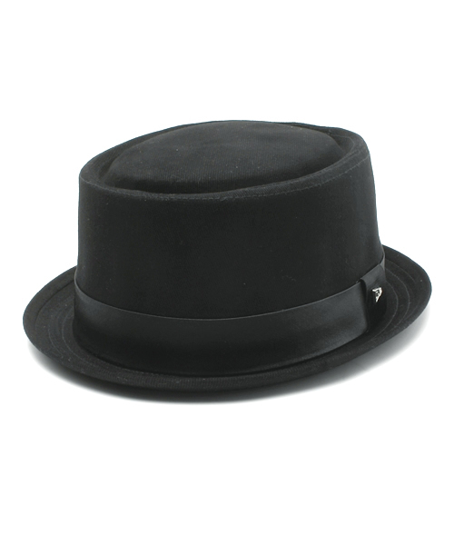 「ONSPOTZ ORIGINAL EK BY NEWERA HAT PORKPIE COTTON SATIN BAND BLACK   NEW  ERA CAP c831cecff9d2