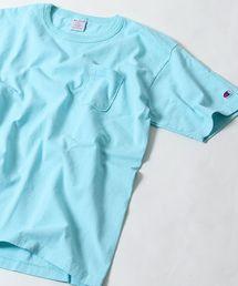 【WEB限定】Champion(チャンピオン)T1011(ティーテンイレブン) 製品染めUSポケット付きTシャツ