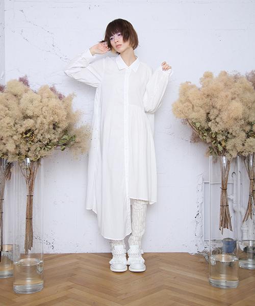 434a1040ccea9 bedsidedrama(ベットサイドドラマ)の「かけ違いのシャツドレス(シャツワンピース)」 - WEAR