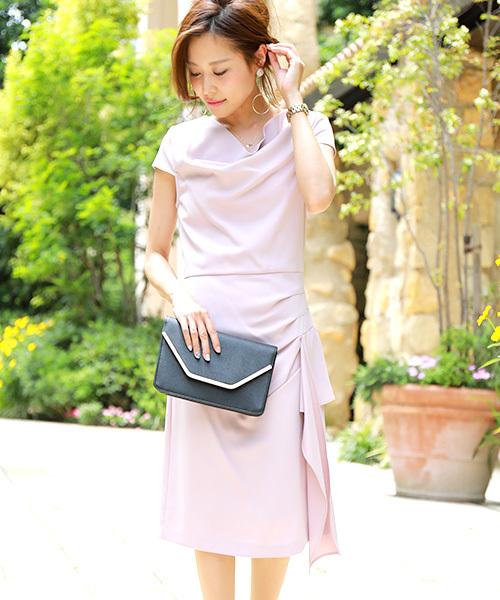 edfd8abbe8931 Fashion Letter(ファッションレター)の「アシンメトリーフリルワンピースドレス(ドレス)」 - WEAR