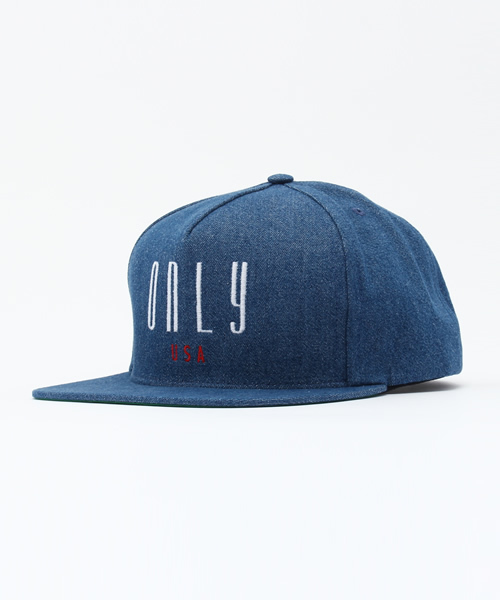 47768598c27 ONLY NY(オンリーニューヨーク)の「ONLY.NY   オンリーニューヨーク CONTINENTAL SNAPBACK(キャップ)」 - WEAR