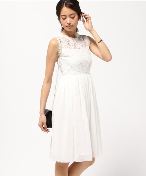 e951f57b47ef7 Paradise Picnic(パラダイスピクニック)の「 結婚式・二次会・パーティにオススメ WEB限定商品 ボリュームチュールレースドレス(ドレス)」  - WEAR