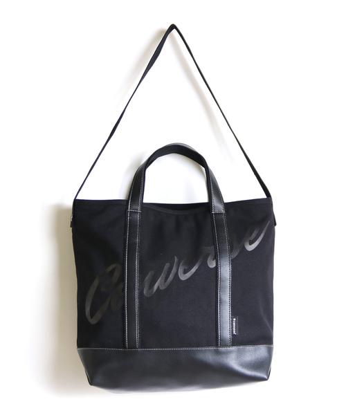 10126f4f0b CONVERSE(コンバース)の「 CONVERSE コンバース  Logo 2way Tote Bag ロゴ2wayトート(トートバッグ)」 -  WEAR
