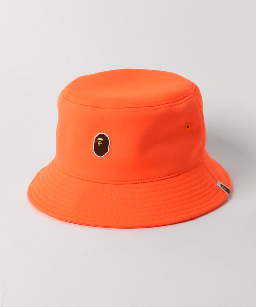 454e83fca34 A BATHING APE(アベイシングエイプ)の「APE HEAD ONE POINT BUCKET HAT M(キャップ)」 - WEAR
