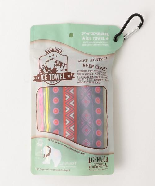 ICE TOWEL with CARABINER