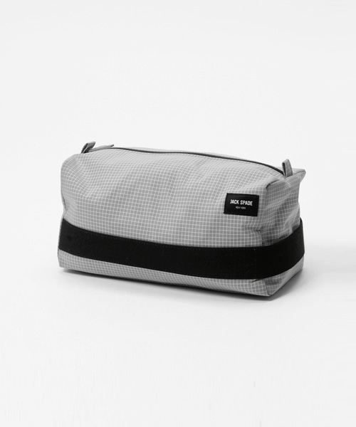 48e5a1188b JACK SPADE(ジャック スペード)の「PACKABLE GRAPH CHECK TOILETRY KIT(ポーチ)」 - WEAR